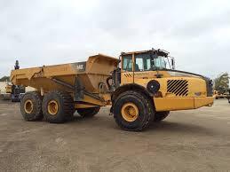 volvo dump truck volvo a40e articulated dump trucks adts construction