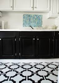 Kitchen Vinyl Flooring by High Heels And Training Wheels Diy Floors Vinyl To Tile For Only 50