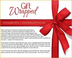 gifts for soon to be coming soon gift wrapped karla doyle author