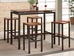 Bar Height Dining Chairs Atlas Counter Height Dining Set Light Oak Finish Bar