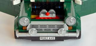 lego mini cooper interior qnews lego adds classic mini to its range motor trader car news