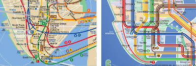 Manhattan Map Subway by Nyc Subway Installing Smart Touchscreen Wayfinding System
