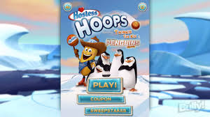 the penguins of madagascar hostess hostess hoops featuring twinkie and the penguins of
