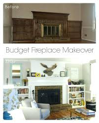 How To Finish A Fireplace - remodeling a fireplace surround we provide a great value of pearl