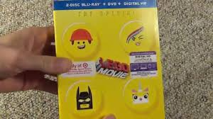 target dvd movies black friday the lego movie blu ray unboxing target exclusive youtube