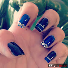 my blue police nails for fallen officer nail designs u003c3