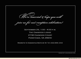 post wedding reception wording exles post wedding reception invitation wording wedding reception