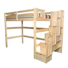 twin loft bed encore twin loft bed natural twin bunk bed mattress