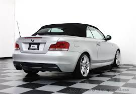 used bmw 1 series convertible 2012 used bmw 1 series certified 135i m sport convertible at