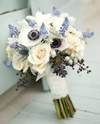 blue wedding bouquets something blue wedding ideas are a pretty nod to tradition