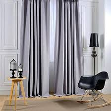 White Darkening Curtains Room Darkening White Curtains Blended Fabric Curtain Panel Room