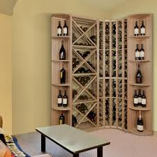 wine enthusiast barrel stave 5 bottle wall wine rack 570 08 10