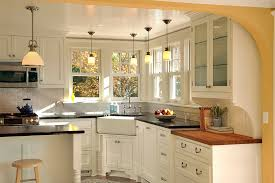 Kitchen Design Sink Kitchen Corner Decorating Ideas Tips Space Saving Solutions