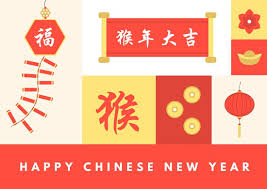 happy lunar new year greeting cards happy new year greeting card templates by canva