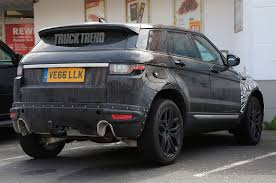 range rover evoque back spied u2013 upsized range rover evoque testing in europe