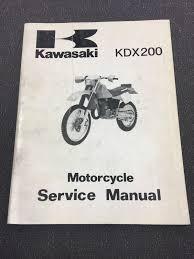 1987 kawasaki kdx200 service manual 99924 1105 01 u2022 24 00 picclick