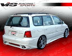 honda odyssey racing 1995 1998 honda odyssey 4dr gemini rear bumper vis racing sports inc