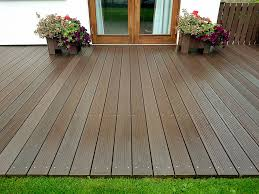 maintenance free decking recycled products