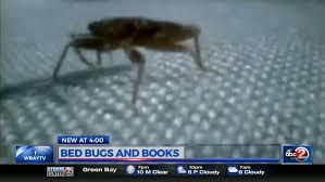 Wisconsin How Do Bed Bugs Travel images Bed bugs can spread through books jpg