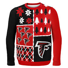 nfl sweaters atlanta falcons s nfl busy block sweater walmart com