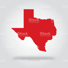 Texas Election Map by Texas Red State Icon Stock Vector Art 484003868 Istock