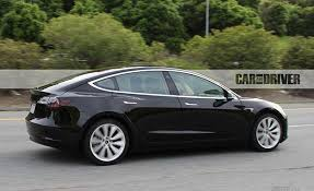 spied 2017 tesla model 3 electric vehicle news car and driver
