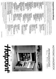 hotpoint refrigerator 8215 user guide manualsonline com