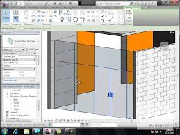 glass wall door systems revit autodesk creating a curtain wall with double doors youtube