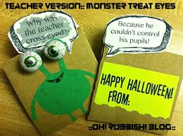 Halloween Party Favor Ideas by Monster Treat Eyes Halloween Joke Gram Halloween Party