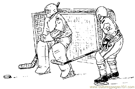 hockey coloring page 04 coloring page free others coloring pages