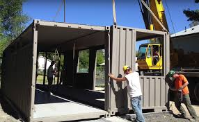 shipping containers recycled into affordable salt lake home