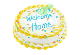 Welcome Home Cake Decorations Welcome Home Festive Cake Royalty Free Stock Images Image 10127079