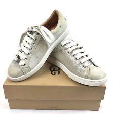 ugg womens tennis shoes womens ugg australia w milo stardust w silver lace up tennis