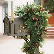 Mailbox Decor For Christmas by 79 Best Mailbox Decorations Images On Pinterest Mailbox Ideas