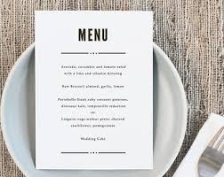 blush printable wedding menu template rustic wedding menu