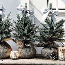 mini faux english pine tree the white company u2022xmas