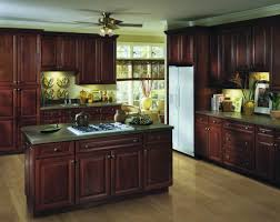 Kitchen With Brown Cabinets Cabinets U0026 Countertops U2013 Lezzer Lumber