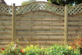 Arch Trellis Fence Panels How To Put Up A Panel Fence Help U0026 Ideas Diy At B U0026q