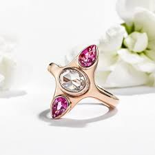 pink gold engagement rings gold engagement rings hart