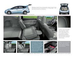Toyota Prius Interior Dimensions 2014 Toyota Prius V Brochure North Toyota In Los Angeles
