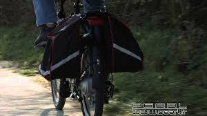 bande plastique pour porte nc8917 sacoche vélo double pour porte bagages youtube