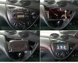 Ford Focus 1999 Interior Ct23fd32 Double Din Fascia Surround Panel Adaptor For Ford Focus