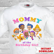 bubble guppies mom of the birthday shirt bubble guppies