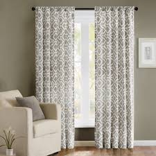 amazon com madison park delray diamond rod pocket curtain single