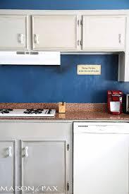 Kitchen Sink Paint by How To Paint A Kitchen With Chalk Paint Maison De Pax