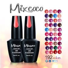 2017 popular 192 colors long lasting soak off uv nail gel buy