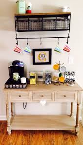 storage diy coffee bar table how to build your own farmhouse