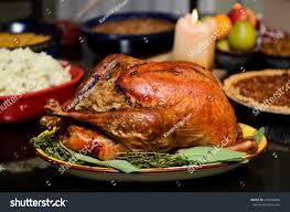 traditional thanksgiving turkey stock photo 229834696