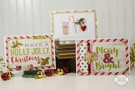 easy handmade christmas cards st scrapbook expo