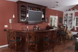home design interior stunning wooden bar island teak woods